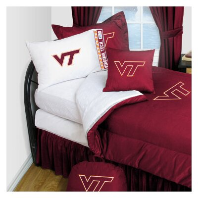 Virginia Tech Comforter Size: Twin
