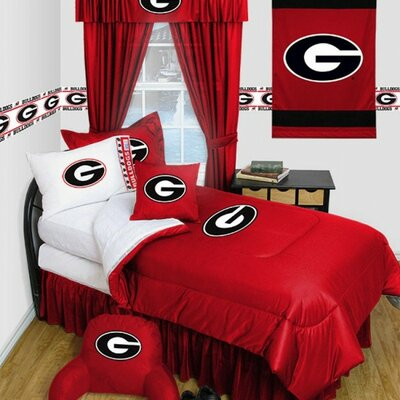 University of Georgia Comforter Size: Full/Queen