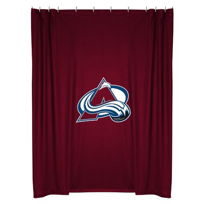 NHL Shower Curtain NHL Team: Colorado Avalanche
