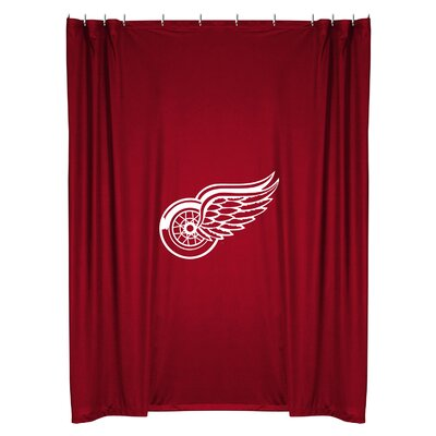 NHL Shower Curtain NHL Team: Detroit Wings