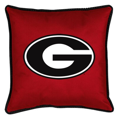 NCAA Georgia Sidelines Throw Pillow