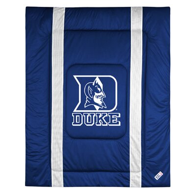 NCAA Duke University Sidelines Comforter Size: Twin