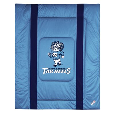NCAA University of North Carolina Sidelines Comforter Size: Twin