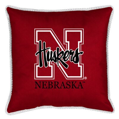 NCAA Nebraska Throw Pillow