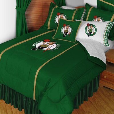 NBA Boston Celtics Sideline Comforter Size: Queen