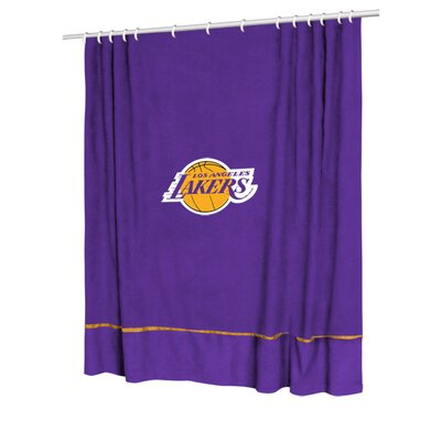 NBA Shower Curtain NBA Team: Los Angeles Lakers