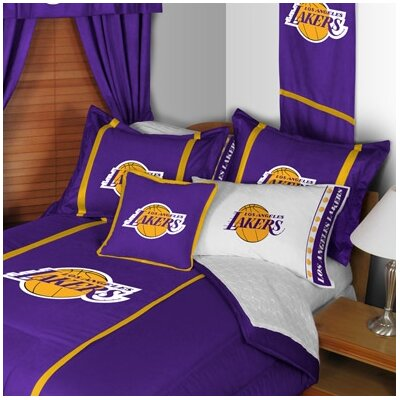 NBA Los Angeles Lakers Sideline Comforter Size: Twin
