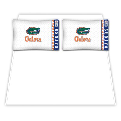 NCAA Florida University Gators Sheet Set Size: Queen