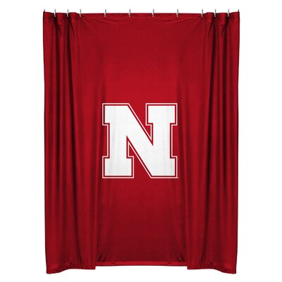 NCAA Shower Curtain NCAA Team: Nebraska