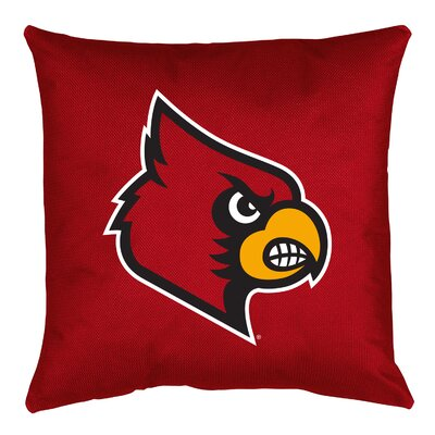NCAA Throw Pillow NCAA Team: Louisville