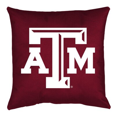 NCAA Throw Pillow NCAA Team: Texas A&M