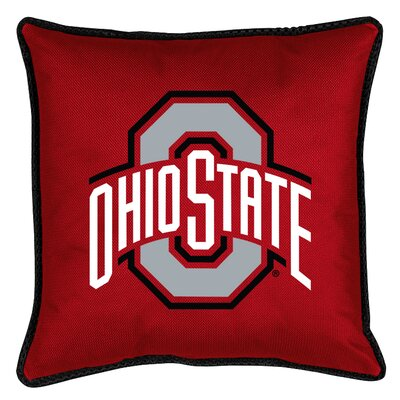 NCAA Sidelines Throw Pillow NCAA Team: Ohio State