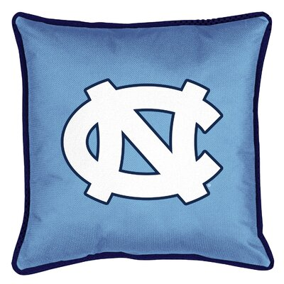 NCAA Sidelines Throw Pillow NCAA Team: North Carolina