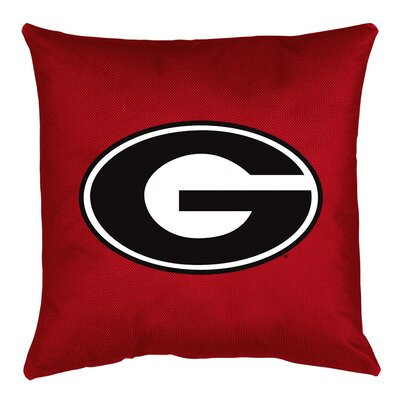NCAA Throw Pillow NCAA Team: Georgia