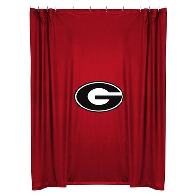 NCAA Shower Curtain NCAA Team: Georgia