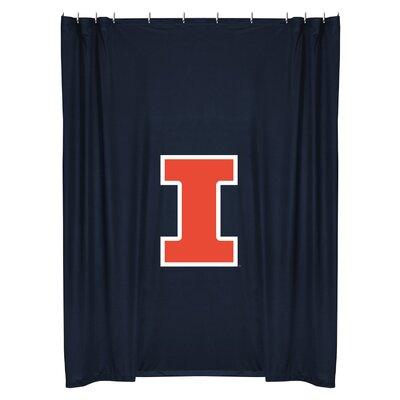 NCAA Shower Curtain NCAA Team: Illinois