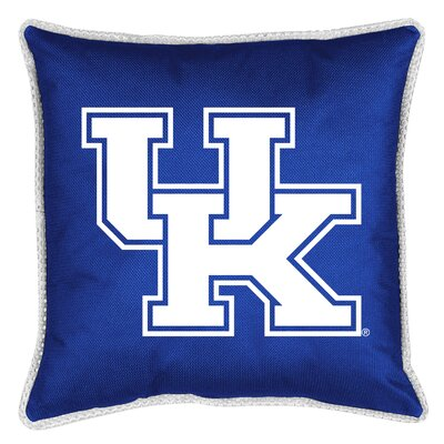 NCAA Sidelines Throw Pillow NCAA Team: Kentucky