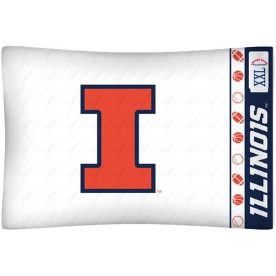 NCAA Pillow case NCAA Team: Illinois