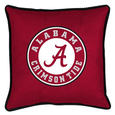 NCAA Sidelines Throw Pillow NCAA Team: Alabama