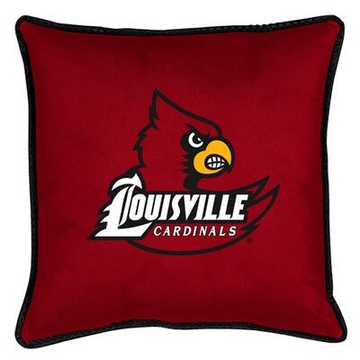 NCAA Louisville Sidelines Throw Pillow
