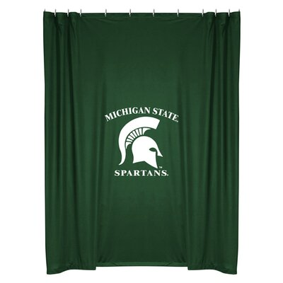 Sports Coverage NCAA Michigan State Shower Curtain