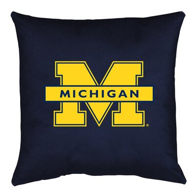 NCAA Throw Pillow NCAA Team: Michigan