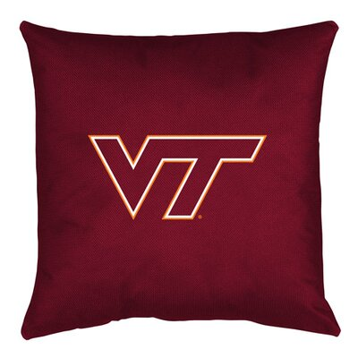 NCAA Virginia Tech Throw Pillow