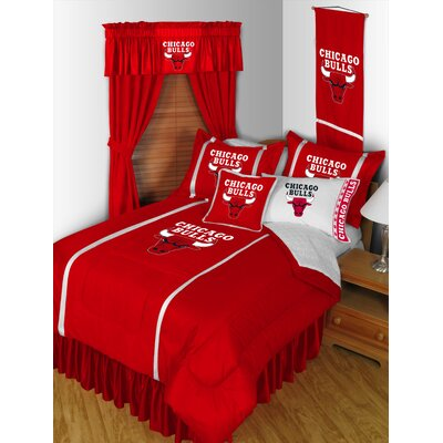 NBA Bed Skirt Size: Queen, Team: Chicago Bulls