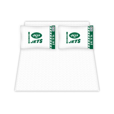 New York Jets Sheet Set Size: Queen