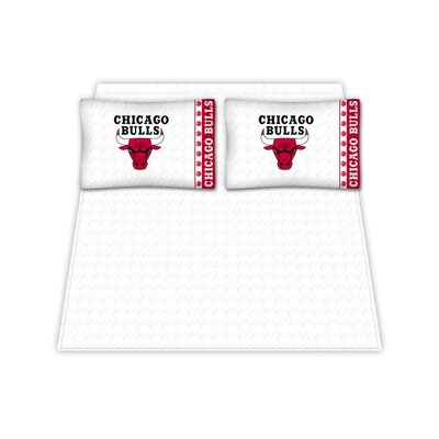 NBA Chicago Bulls Sheet Set Size: Queen
