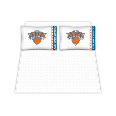 NBA New York Knicks Sheet Set Size: Queen