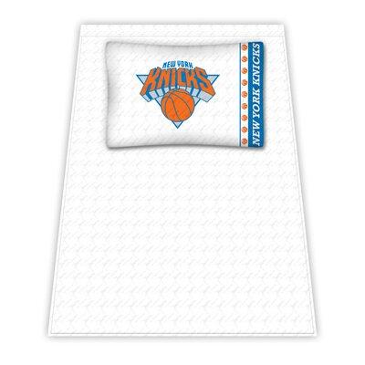 NBA Sheet Set Size: Twin, NBA Team: New York Knicks