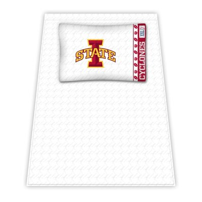 NCAA Iowa State Cyclones Sheet Set Size: Twin