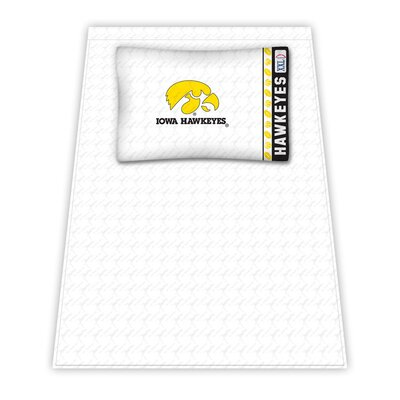 NCAA Iowa University Hawkeyes Sheet Set Size: Twin