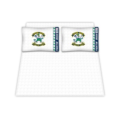 NCAA Notre Dame Fighting Irish Sheet Set Size: Full