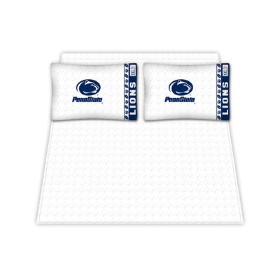 NCAA Penn State Nittany Lions Sheet Set Size: Queen