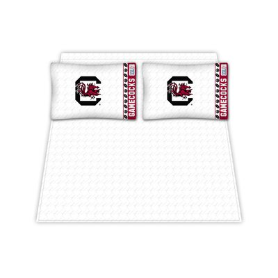 NCAA South Carolina Gamecocks Sheet Set Size: Queen