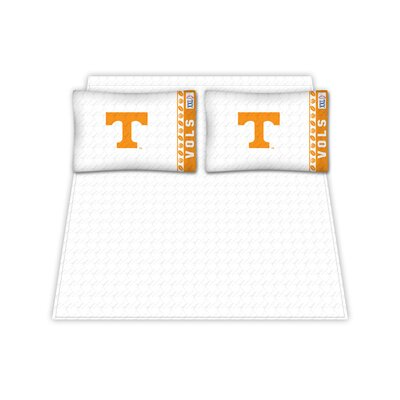 NCAA Tennessee University Volunteers Sheet Set Size: Queen