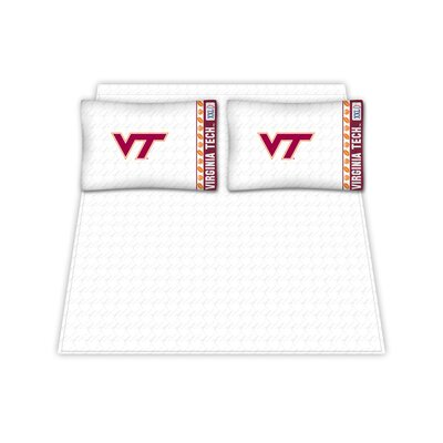 NCAA Virginia Tech Hokies Sheet Set Size: Twin