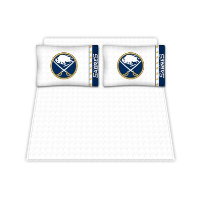 NHL Buffalo Sabres Sheet Set Size: Queen