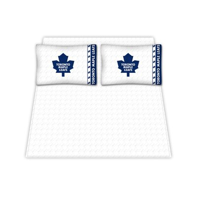 NHL Toronto Maple Leafs Sheet Set Size: Queen
