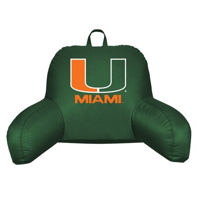 NCAA Bed Rest Pillow NCAA Team: Miami