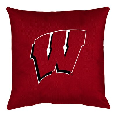 NCAA Throw Pillow NCAA Team: Wisconsin