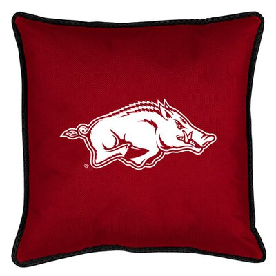 NCAA Sidelines Throw Pillow NCAA Team: Arkansas