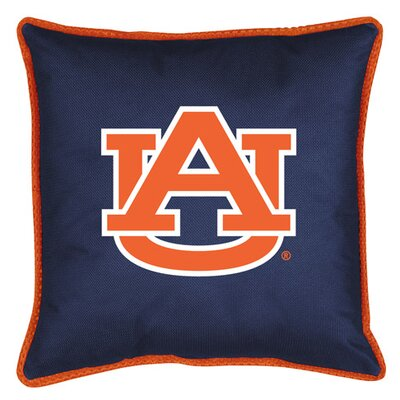 NCAA Sidelines Throw Pillow NCAA Team: Auburn
