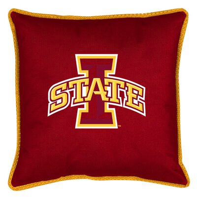 NCAA Sidelines Throw Pillow NCAA Team: Iowa State
