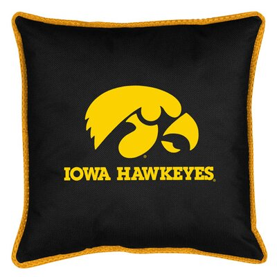NCAA Iowa Sidelines Throw Pillow