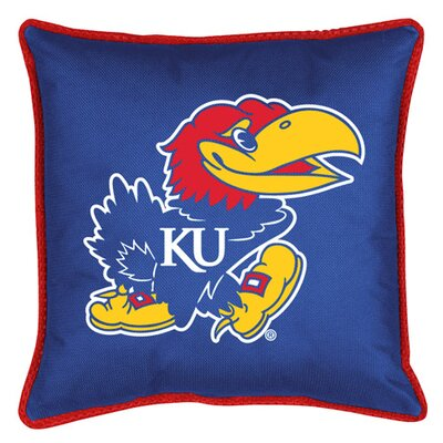 NCAA Kansas Sidelines Throw Pillow