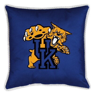 NCAA Kentucky Sidelines Throw Pillow