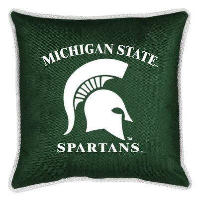 NCAA Michigan State Sidelines Throw Pillow